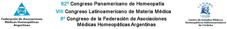8 Congreso Panamericano de Homeopatía 2010